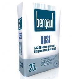 Ровнитель для пола Bergauf Base базовый на цементной основе 25 кг