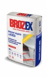 Наливной пол Brozex Нивелир Медиум NF-415 на цементной основе толстослойный 20 кг