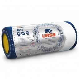 Стекловолоконный утеплитель Ursa Geo М-25Ф 4500х1200х100 мм / 1 шт.