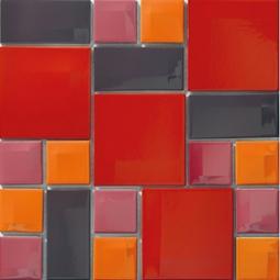 Мозаика Vitra Day-to-Day 300х300 красный микс 5400918
