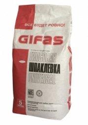 Шпатлевка Gifas Универсал гипсовая 5 кг