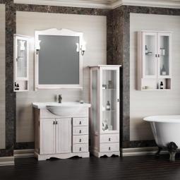 Комплект мебели Opadiris Клио 80 Белый (беленый бук, Weiss)