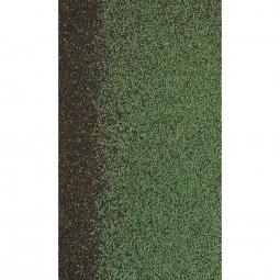 Коньково-карнизная черепица Shinglas Кадриль-соната, Нефрит зеленый, 1000х250мм