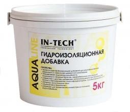 Добавка гидроизоляционная IN-TECK AQUALINE, ведро 2кг