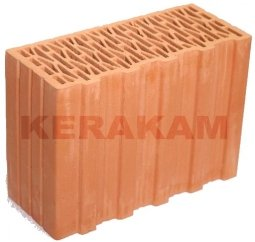 Керамический доборный блок Kerakam 30ST+ 129х380х219 с пазом и гребнем