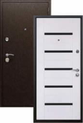 Металлическая дверь Старк Царга, Йошкар-Ола, 860*2050, эшвайт мелинга