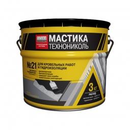 Мастика Технониколь Техномаст БПХ кровельная битумно-полимерная №21 3кг