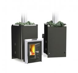 Печь для бани Ермак Классика 12 Carbon антрацит