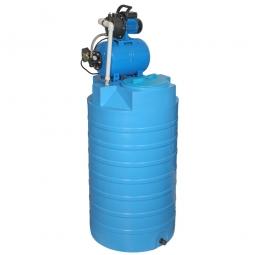 Бак для воды Aquatec ATV-500 с автоматической насосной станцией JP 600PA тип 2/тип 3