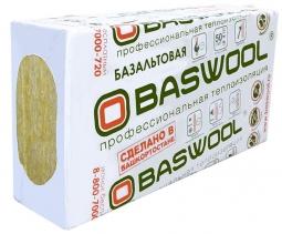 Минераловатный утештитель Baswool Лайт 45 1200х600х50 мм / 6 шт.