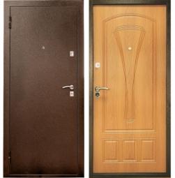 Металлическая дверь УД-104, Йошкар-Ола, 960*2050, миланский орех