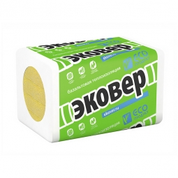 Базальтовый утеплитель Эковер Стандарт 50 1000х600х100 /6 пл.