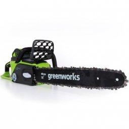 Пила цепная Greenworks GD40CS40